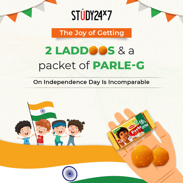 Remember! The joy of getting 2 Laddoos and a Parle-G ...