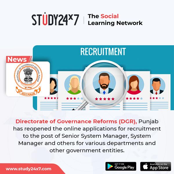 DGR Recruitment 2020: Directorate of Governance Refor...