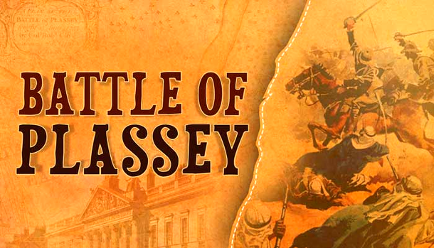 The Battle of Plassey was fought in