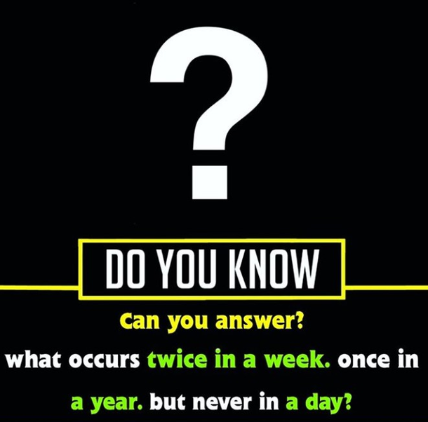 Do You Know....?