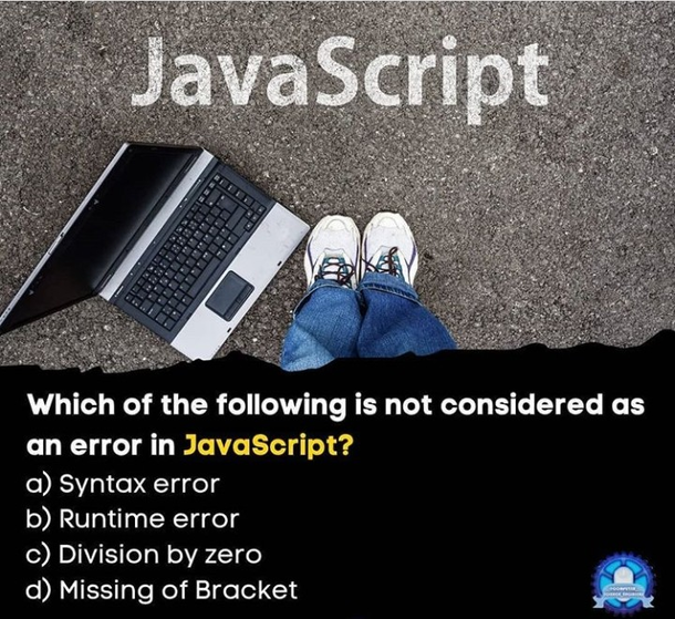 which of the following is not considered as an error ...