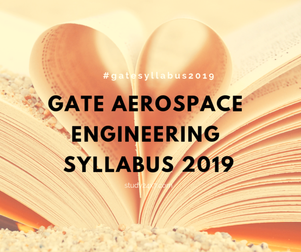 GATE Aerospace Engineering Syllabus 2019 - AE<b...