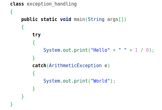 What is the output of this program ...?<br>