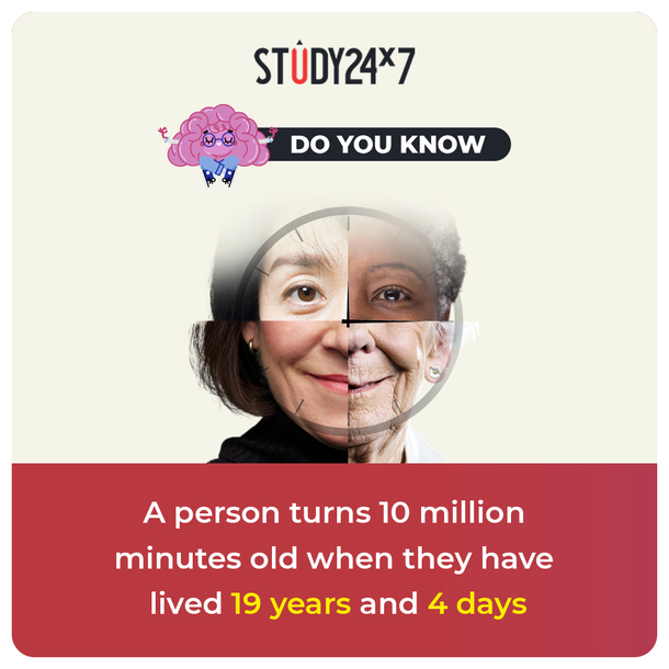 This will Amaze You! Fun Fact   A person turns 10 mil...