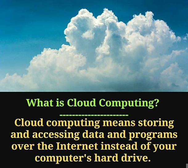 What is Cloud computing....?