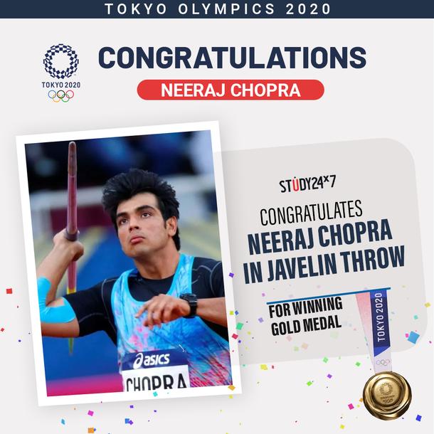 Kudos to Neeraj Chopra!For Winning Gold Medal I...