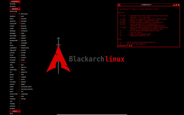 BlackArch is a penetration testing dis...