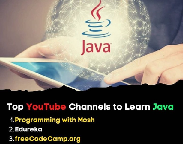 Top YouTube channel to learn Java.