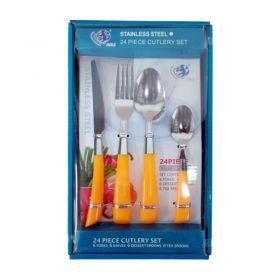24 Pc Cutlery Set [Square Box]
