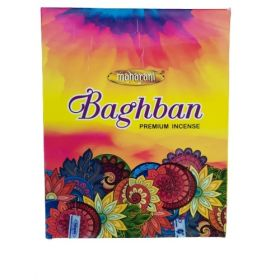 Maharani Baghban Incense 15 Sticks x 12 Pak