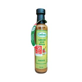 Calisto's Lemon and Herb Sauce 250ml