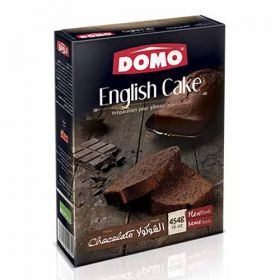 Domo English Cake Chocolate 454g