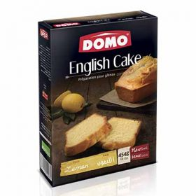 Domo English Cake Lemon Mix 454g