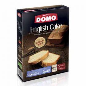 Domo English Cake Vanilla Mix 454g