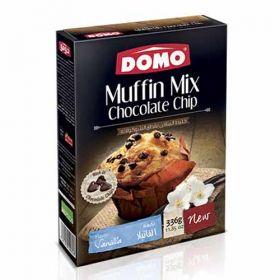 Domo Muffin Mix Chocolate Chip Vanilla 336g