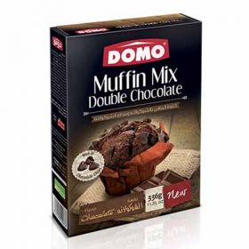 Domo Muffin Mix Double Chocolate 336g
