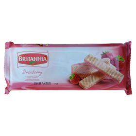 Britannia Strawberry Cream Wafers 108G