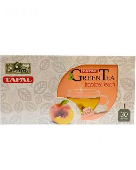 Tapal Green Tea Tropical Peach 45g