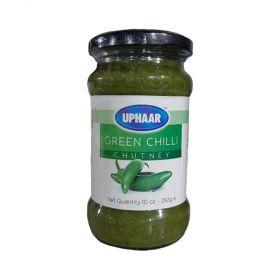 Uphaar Green Chilli Chutnery 283g