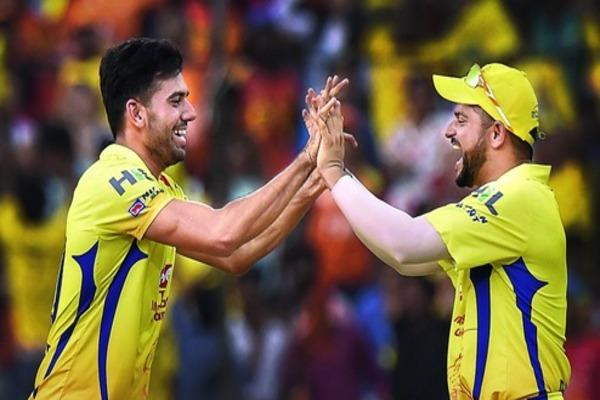 Rayudu & Chahar star in CSK's 4-run victory versus Sunrisers