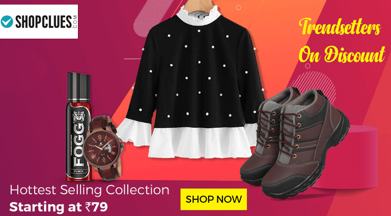 shopclues trendsetters on discount