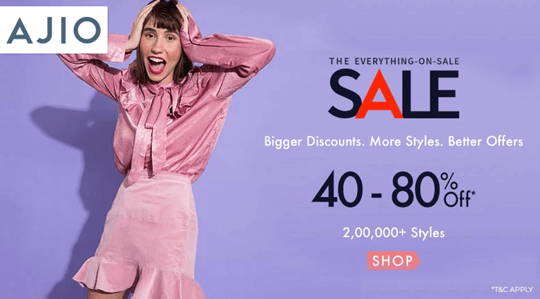 ajiocom the everything on sale