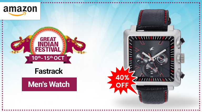 amazon fastrack mens watch