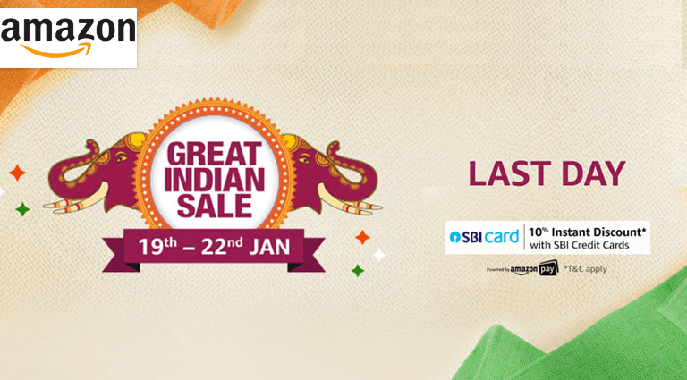 amazon last day of the great indian sale
