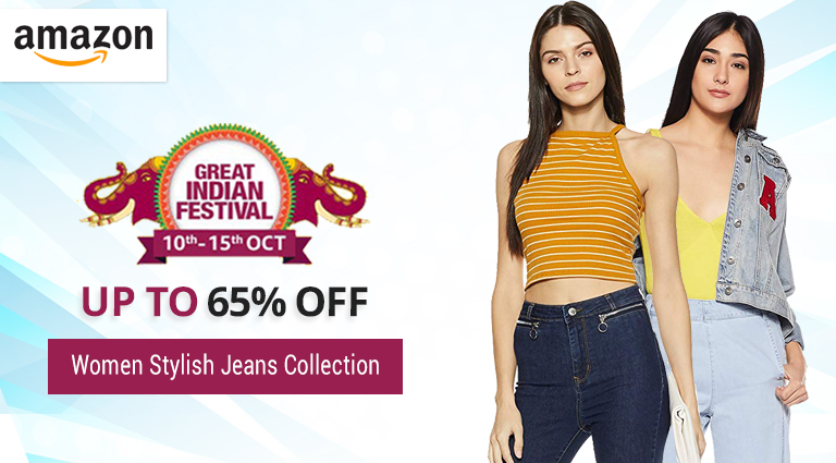 amazon women stylish jeans collection