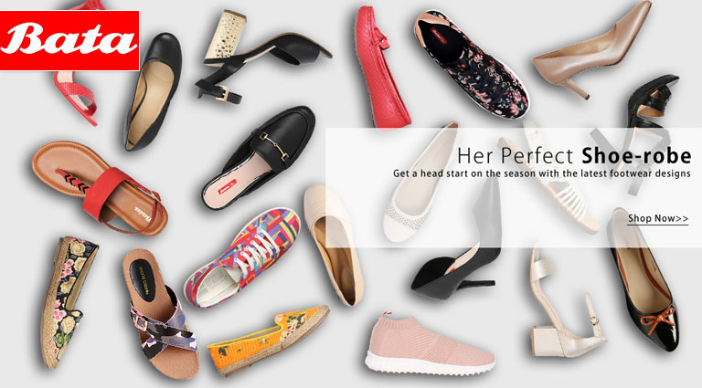 bata her perfect shoes robe