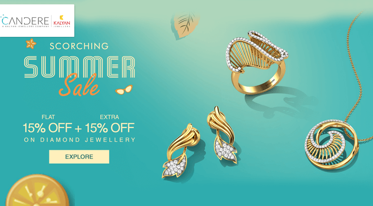 candere scorching summer sale