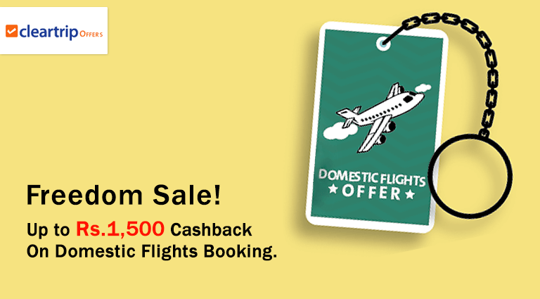 cleartripcom domestic flights offers