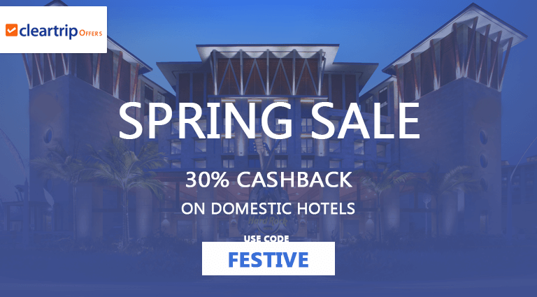 cleartripcom spring sale