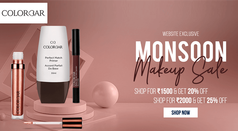 colorbar monsoon make up sale