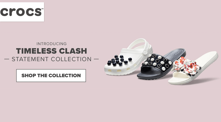 crocs timeless clash statement collection