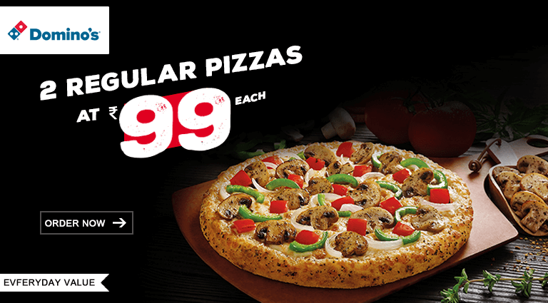 dominos pizza best offers on regular pizza