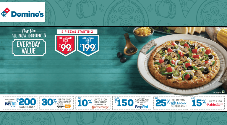 dominos pizza everyday value