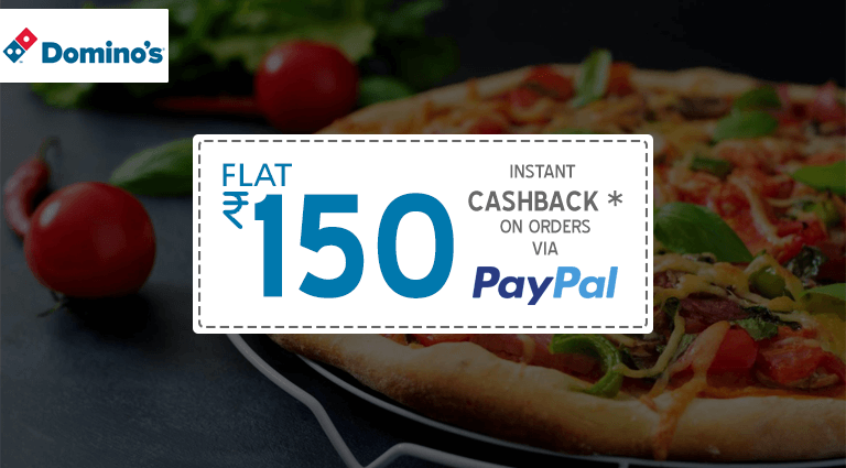 Dominos Pizza Paypal Cashback