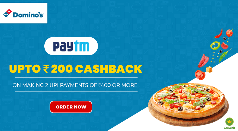 dominos pizza paytm offers on dominos pizza