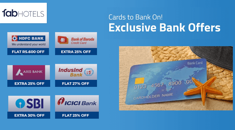 fabhotels exclusive bank offers