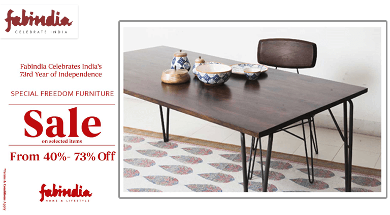 fabindia special freedom furniture sale
