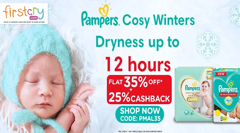 firstcry pampers bonanz