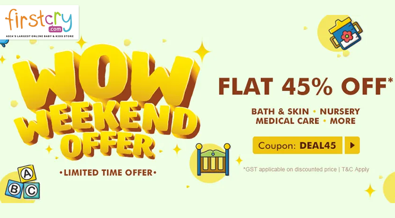 firstcry wow weekend offer