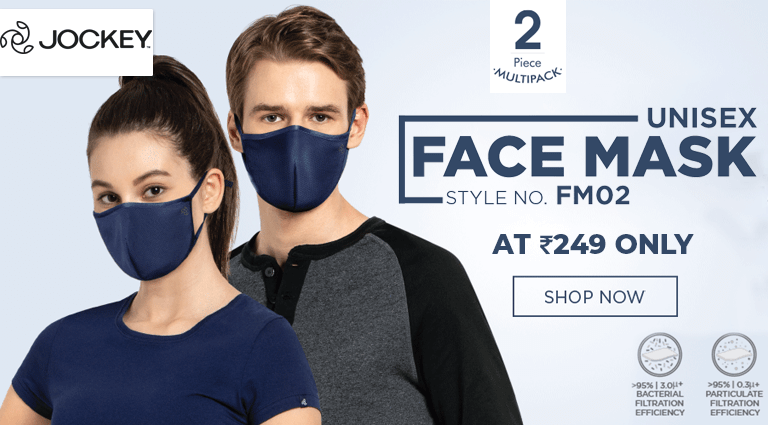 jockey unisex face mask