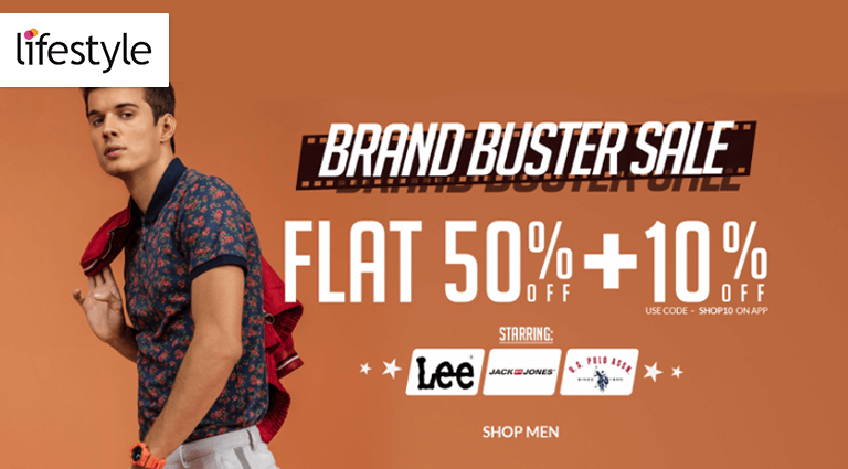 lifestyle brand buster sale