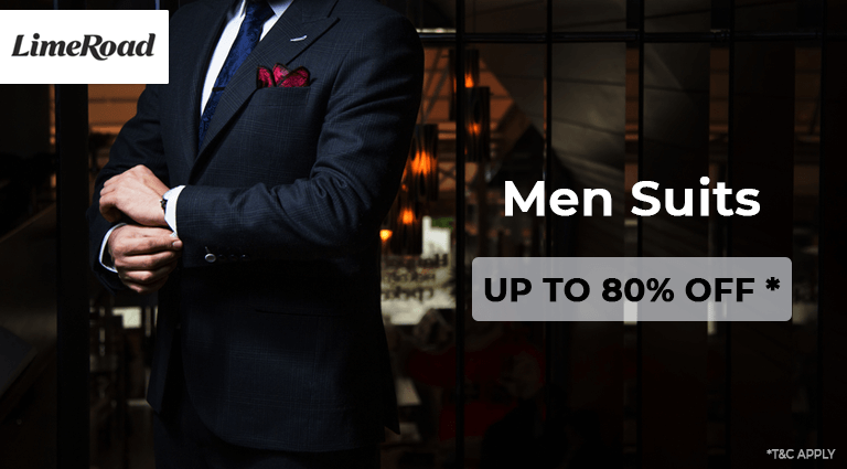 limeroadcom men suits collection