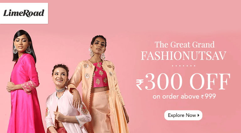 limeroadcom the great grand fashion utsav