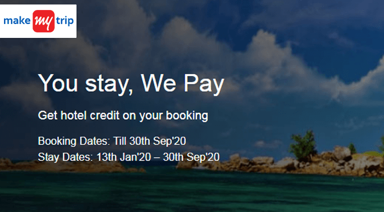 makemytrip hotels you stay we pay