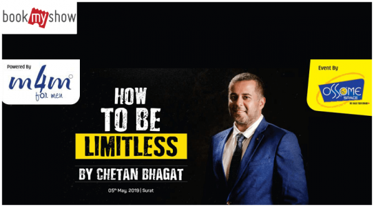 book-my-show-how-to-be-limitless-by-chetan-bhagat