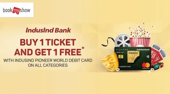 book-my-show-indusland-bank-offers